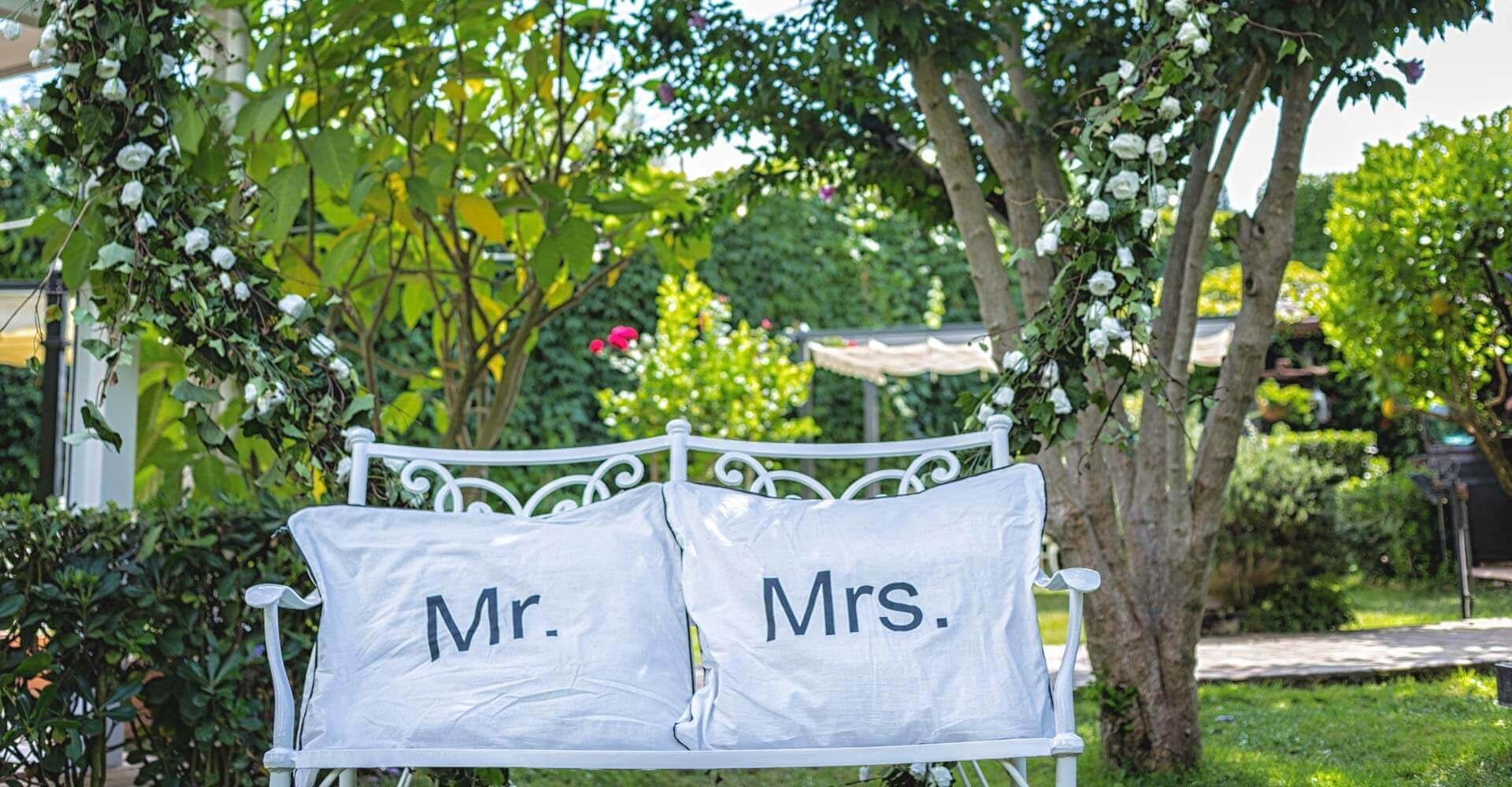 Ville con giardino per matrimoni a Napoli