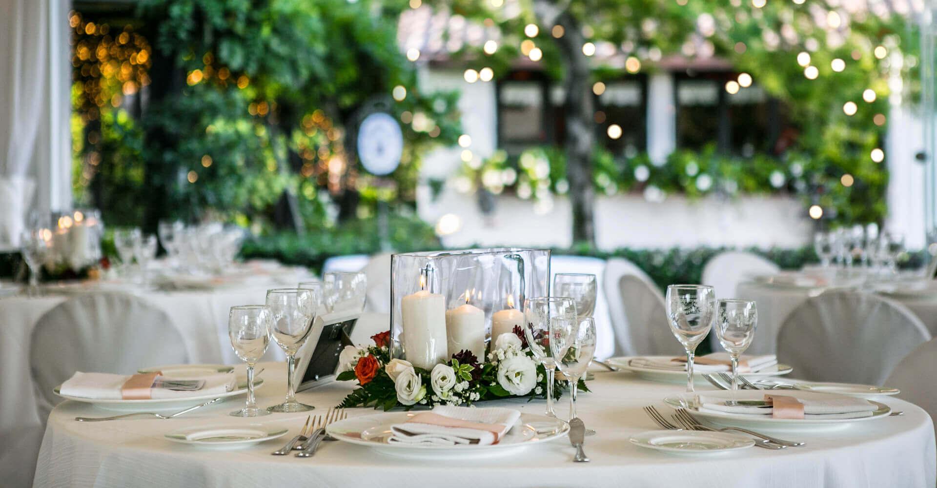 sala esterna per matrimoni Posillipo